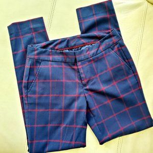 Tommy Hilfiger's nice red/blue core straight pants